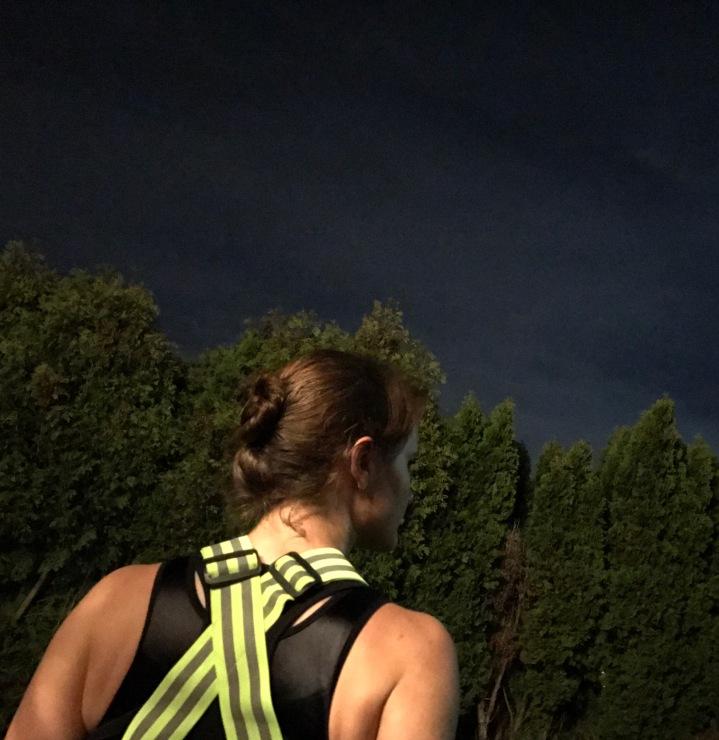 Running after dark